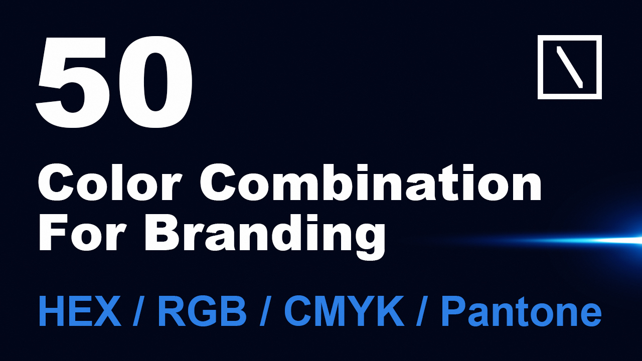 50 Color Combination for Branding