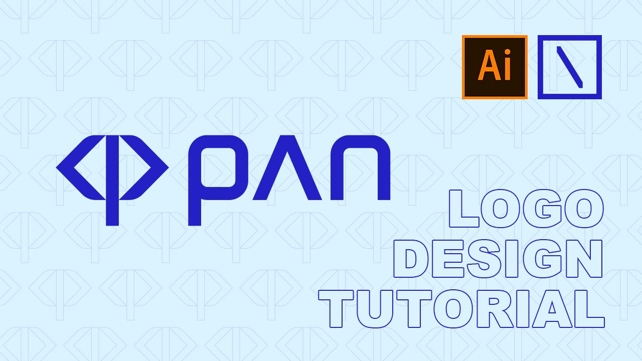 pan Logo Design   Adobe Illustrator Tutorial