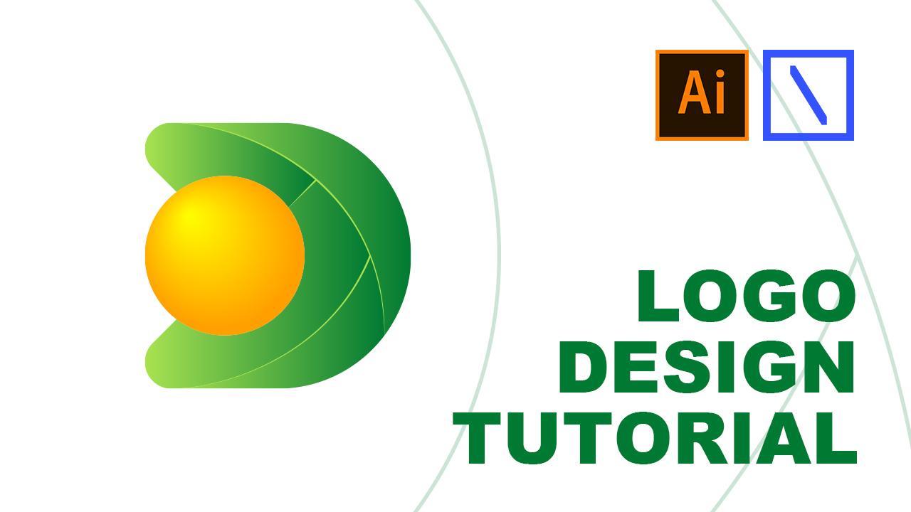 D + Fruit Logo Design Tutorial | Adobe Illustrator